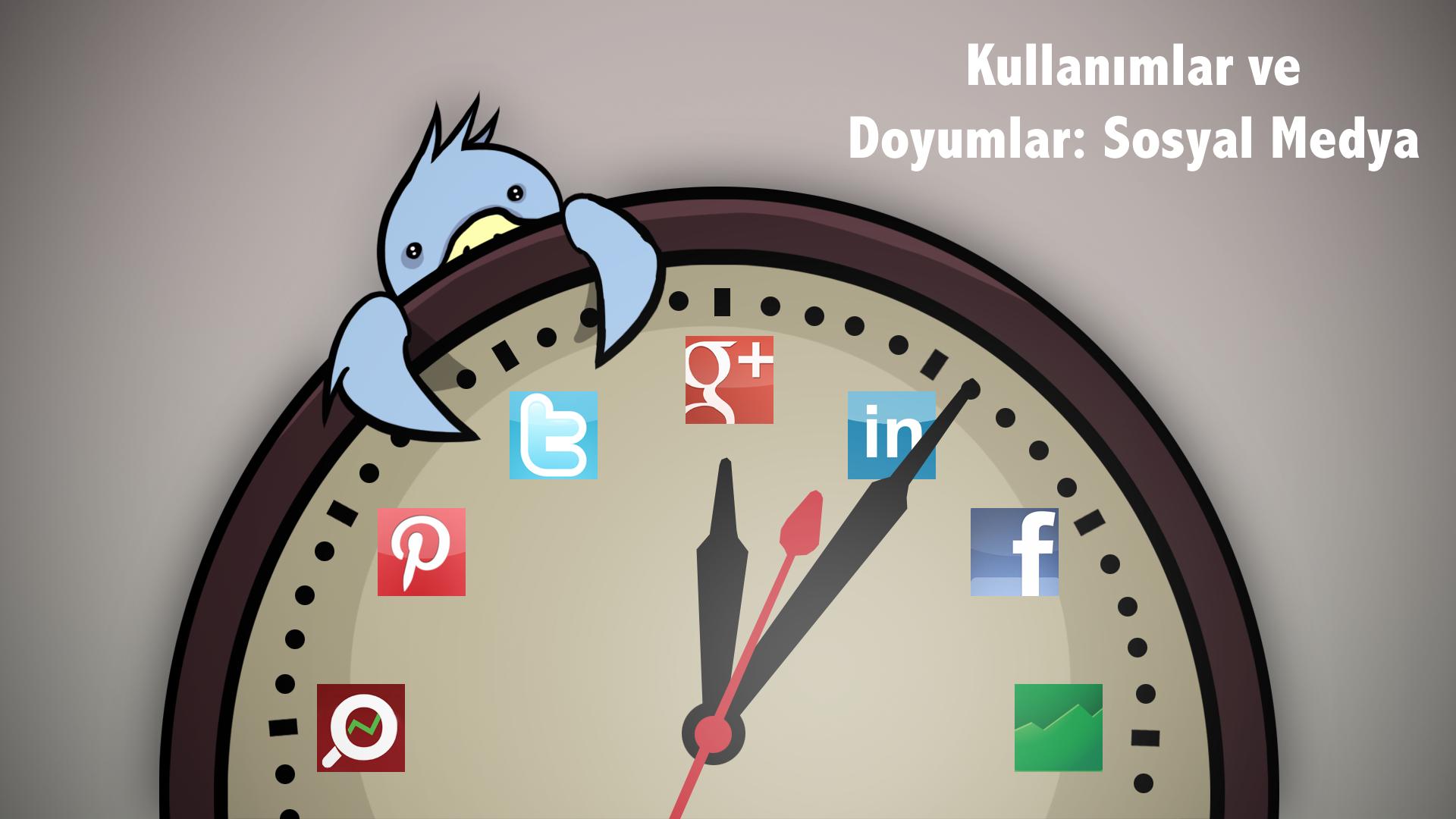 Kullanımlar ve Doyumlar : Sosyal Medya